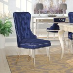 Willa Arlo Interiors Zaphod Tufted Upholstered Dining Chair Reviews Wayfair