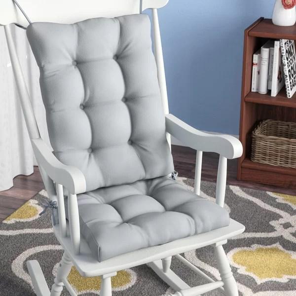 indoor rocking chair wicker glider andover mills 2 piece cushion reviews wayfair