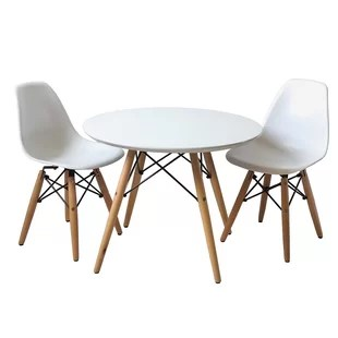 round table and chairs armless upholstered chair for 8 wayfair save