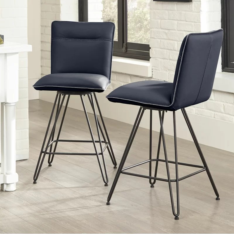 Theobald Swivel Bar & Counter Stool