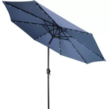Mastin 9' Lighted Umbrella