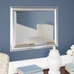 Darby Home Co Ansell Silver Wall Mirror Reviews