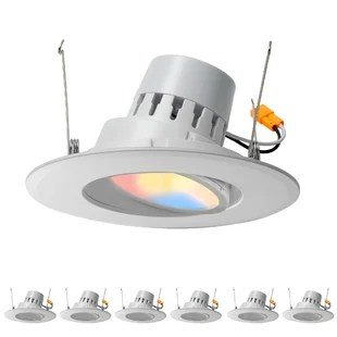 for sloped ceilings recessed lighting