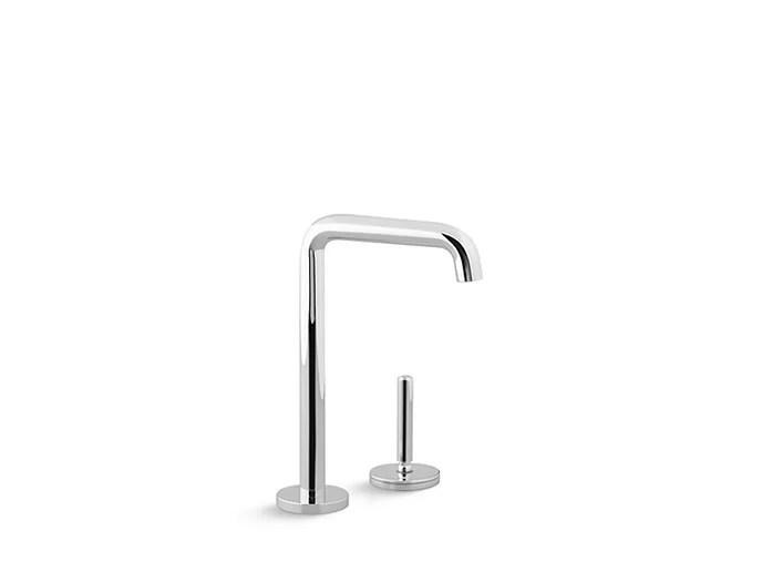 one entertainment single handle kitchen faucet