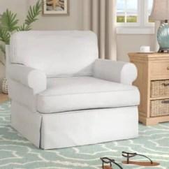Chair Slipcover T Cushion Selig Eames And Ottoman Arm Slip Cover Wayfair Coral Gables Armchair