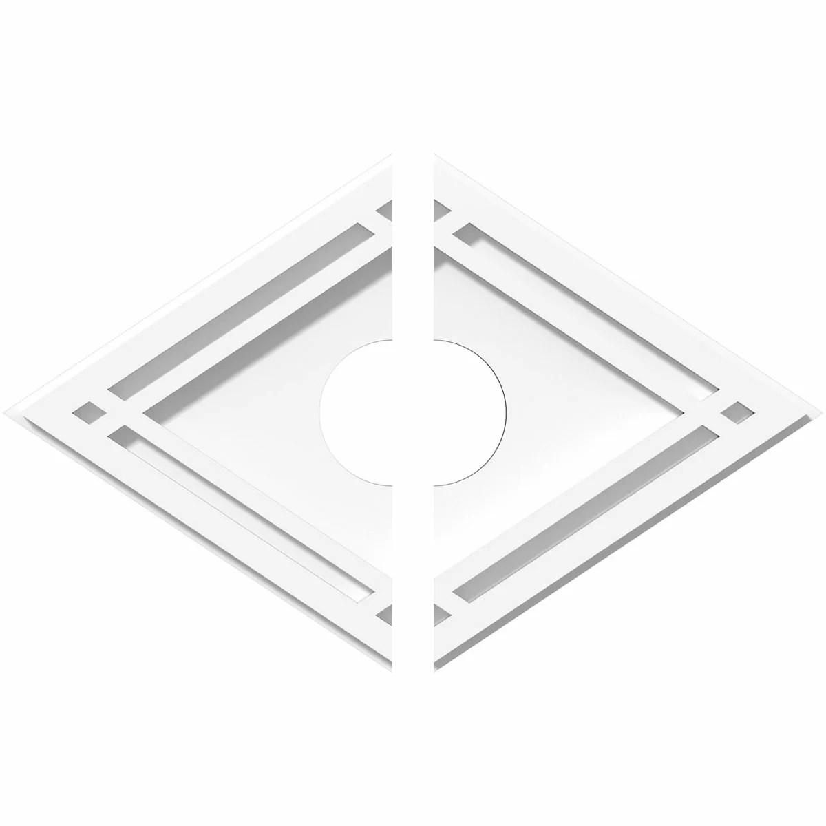 Ekena Millwork Diamond Architectural Grade Pvc Ceiling