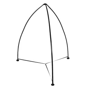 swing chair with stand kuwait bathroom vanity stools and chairs indoor hanging wayfair allete tripod hammock