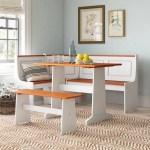 Benston 3 Piece Breakfast Nook Dining Set Reviews Birch Lane