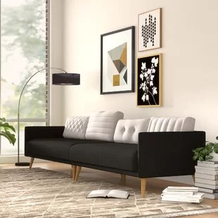 big sofa small living room ashley furniture packages large overstuffed wayfair daigle