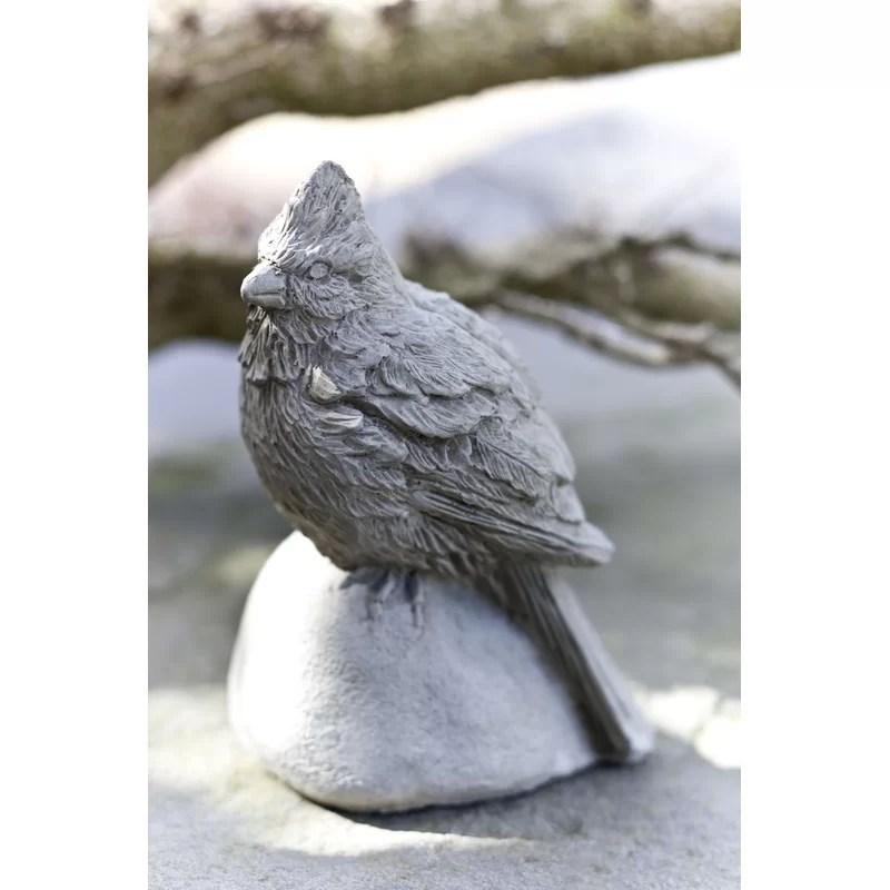 Cardinal Statue Color: English Moss
