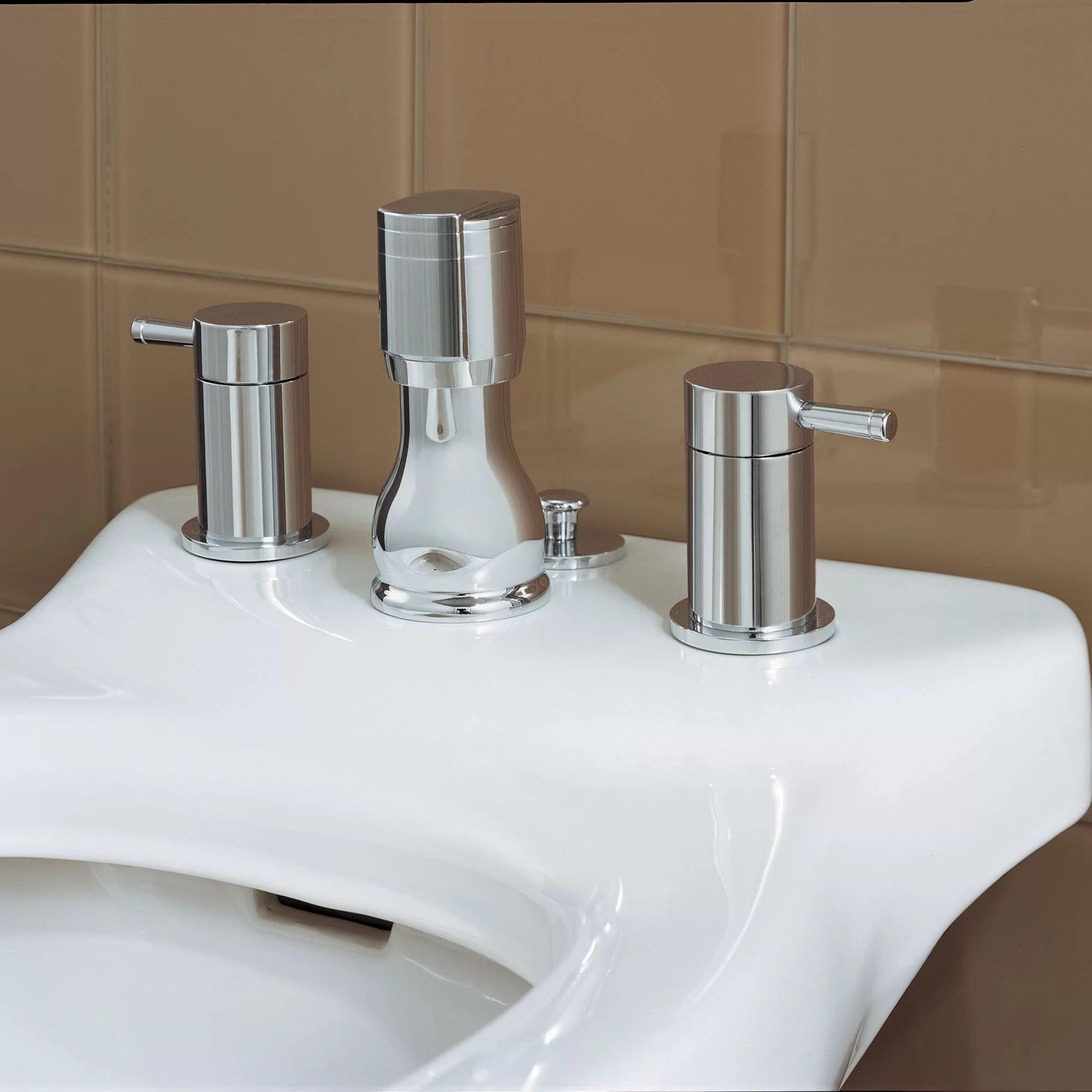 serin widespread vertical bidet faucet