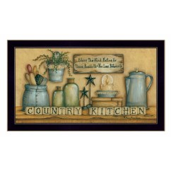 Framed Prints For Kitchens Kitchen And Bath St Louis Trendy Decor 4u Country Graphic Art Print Reviews Wayfair Ca