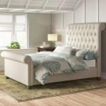 Lakeport Upholstered Sleigh Bed Reviews Birch Lane