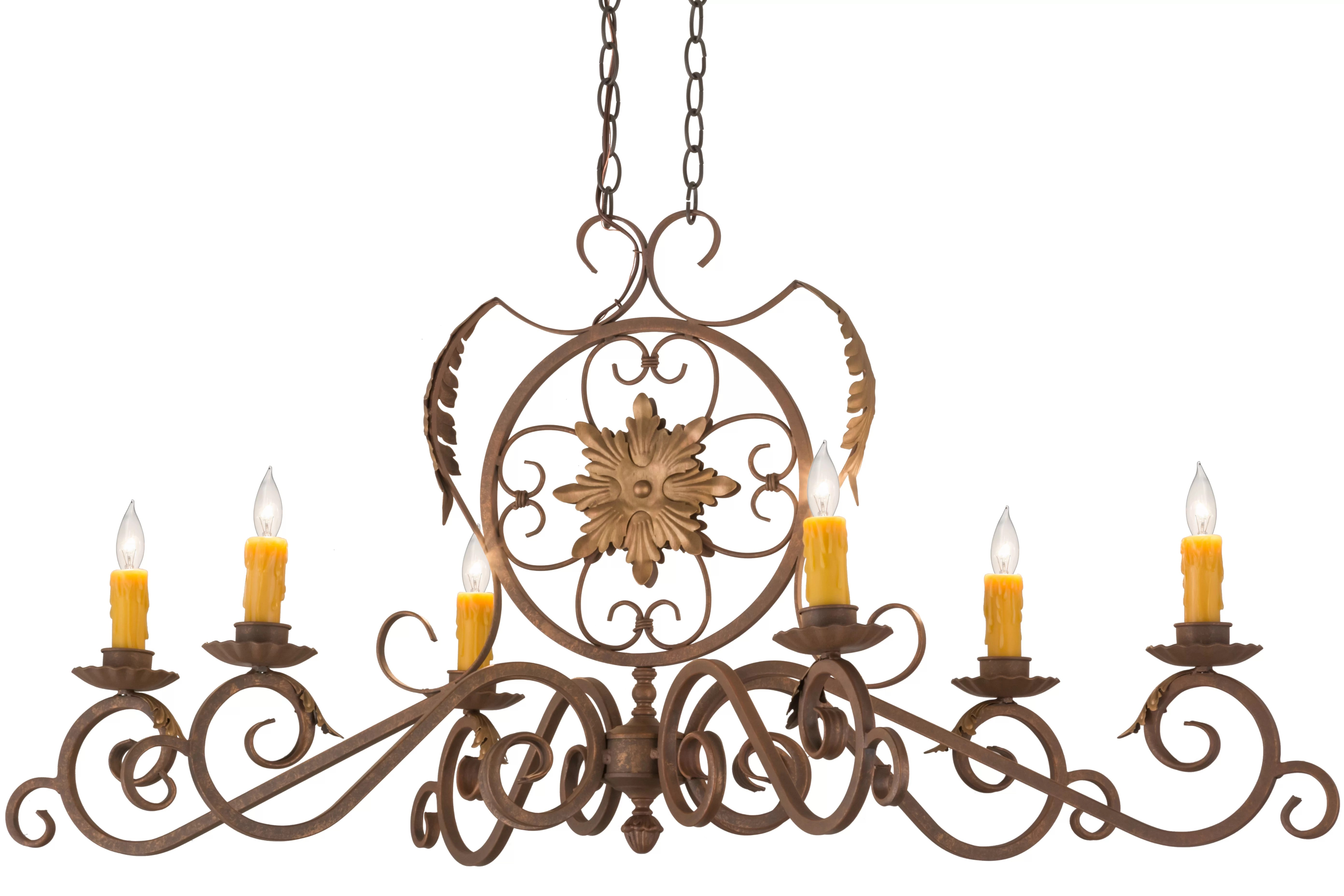 Astoria Grand Swind 6 Light Candle Style Classic Chandelier Wayfair