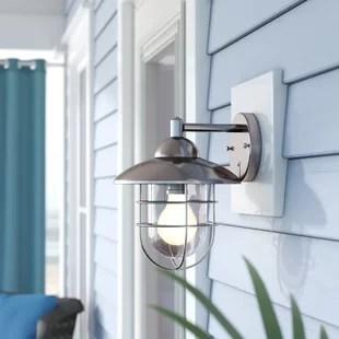 rathbun 1 bulb outdoor wall lantern