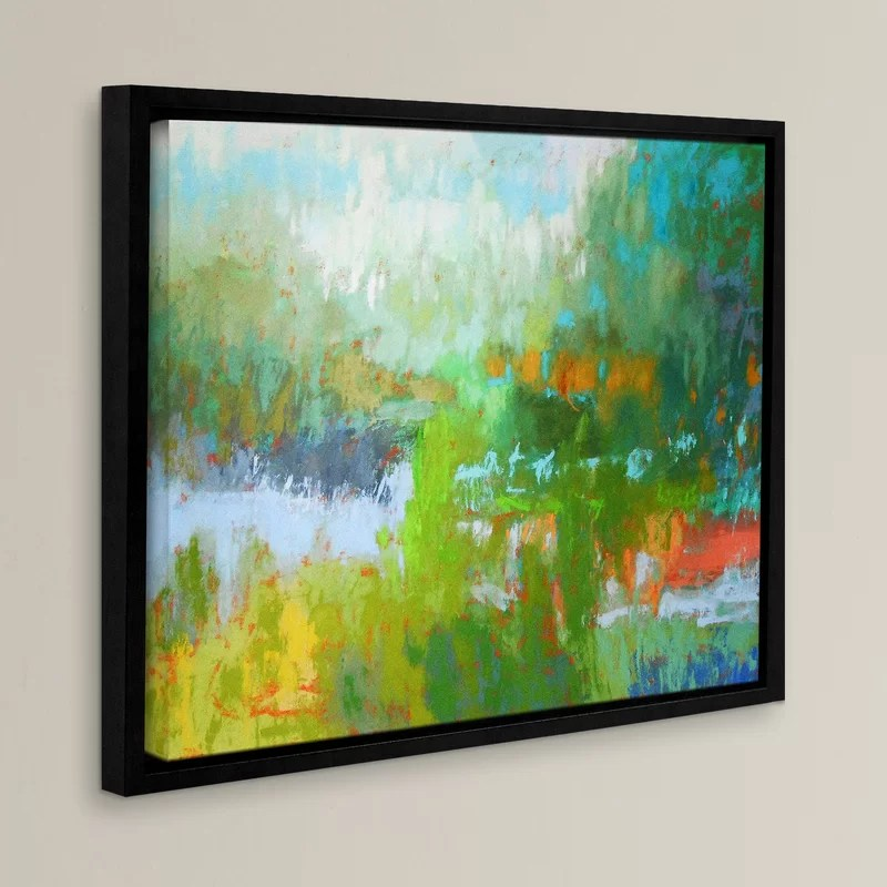 Southern Charm Framed Painting Print Size: 24 H x 32 W x 2 D