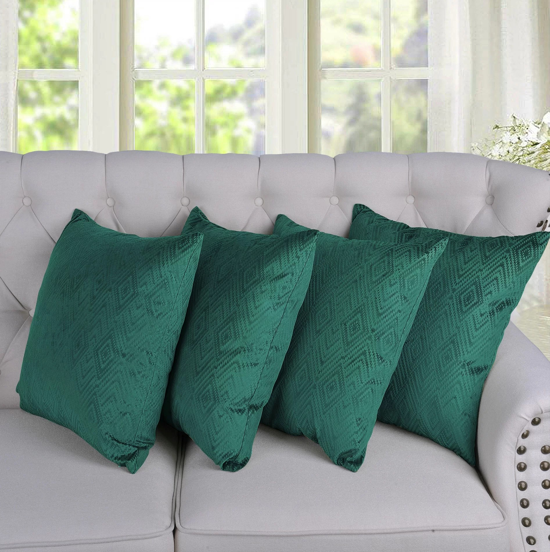 ikat throw pillow covers online