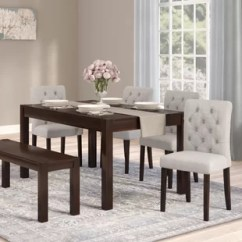 Kitchen Table Set With Bench Shoes Non Slip Whitesburg Dining Wayfair Gardners 6 Piece