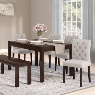 dining room sets 6 chairs inexpensive outdoor piece kitchen you ll love wayfair gardners set