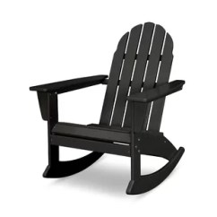 Black Rocking Chairs Best Office Chair For Long Hours Reddit Outdoor Wayfair Quickview