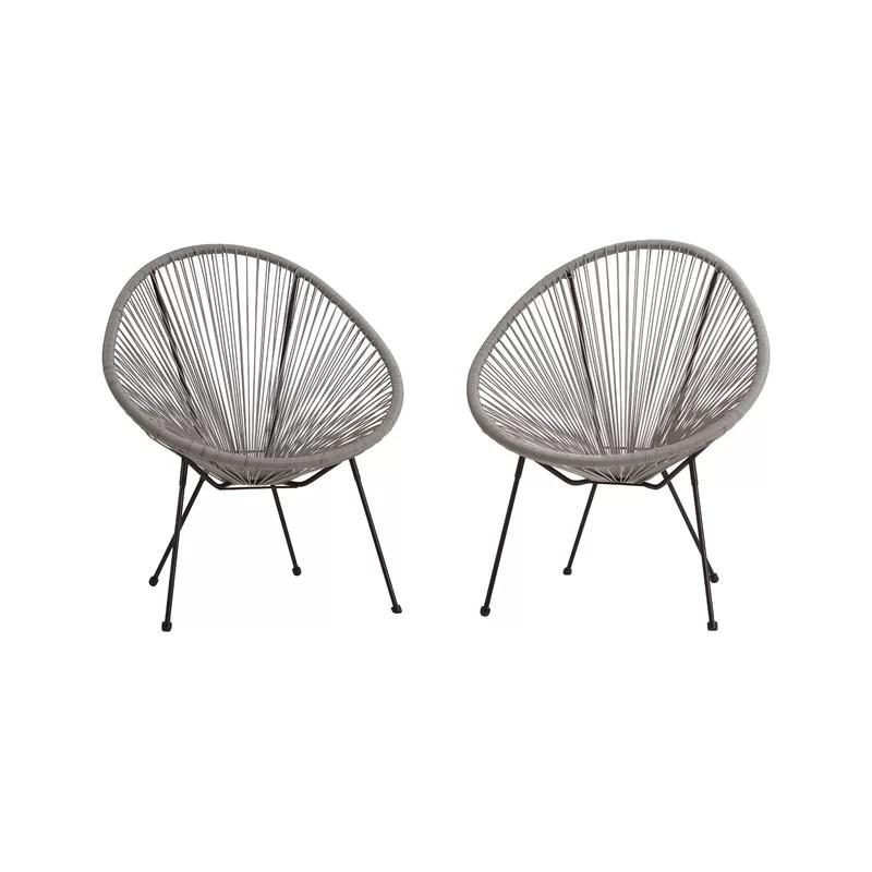 carlita papasan patio chair