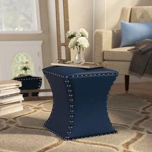 ottoman tables living room beach house furniture ideas ottomans birch lane quickview