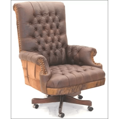 unique leather office chairs roman chair workout desk perigold executive