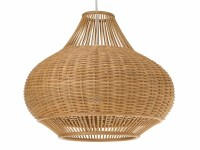 Kouboo Wicker Pear 1-Light Pendant Lamp & Reviews | Wayfair