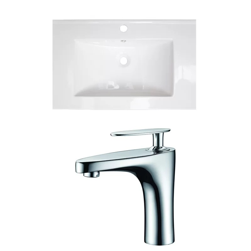Single Handle 24 Single Bathroom Vanity Top