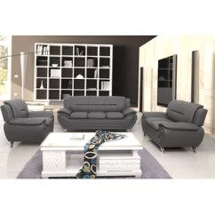 Grey Leather Living Room Set Nice Colors Paint Sets You Ll Love Wayfair Quickview
