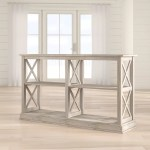 Extended Cyber Monday Sale On Unfinished Console Sofa Tables Wayfair