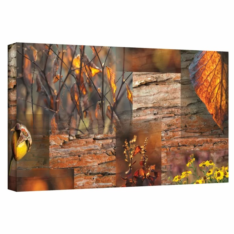 October Light by Cora Niele Graphic Art on Wrapped Canvas Size: 18 H x 36 W