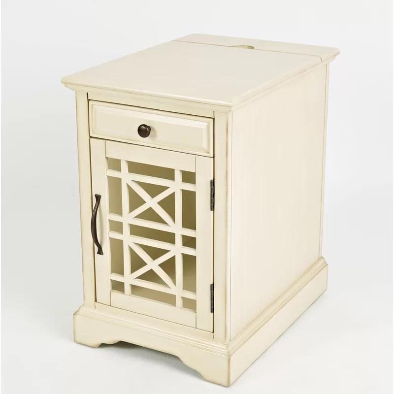 shaffer 1 door accent cabinet