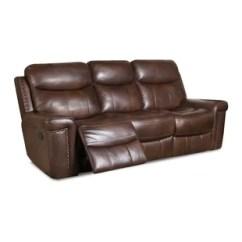 Reclining Sofa Leather Brown Intex Inflatable Pull Out Queen Bed Mattress Sleeper 68566e Sofas You Ll Love Wayfair Heineman