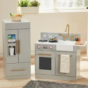 toddler play kitchens large kitchen islands with seating sets accessories you ll love wayfair quickview