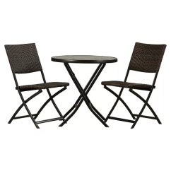 Bistro Tables And Chairs Gold's Gym Roman Chair Outdoor Sets You Ll Love Wayfair