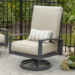 High Back Lawn Chair Cushions Folding Spectator Chairs Patio Wayfair Quickview