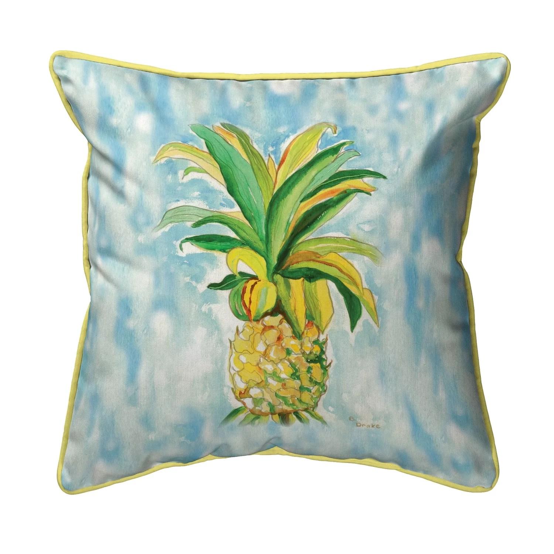 tomlinson pineapple indoor outdoor throw pillow