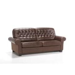 Genuine Leather Sofa Uk Corner Sofas Ikea Italian Wayfair Co Pinedale Fold Out Bed