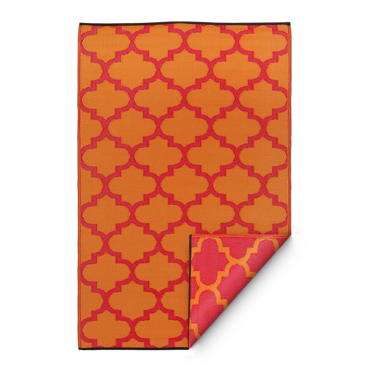 Outdoor Teppich Habitat Boholiving Teppich Morrocan In Rosa Orange And Bewertungen