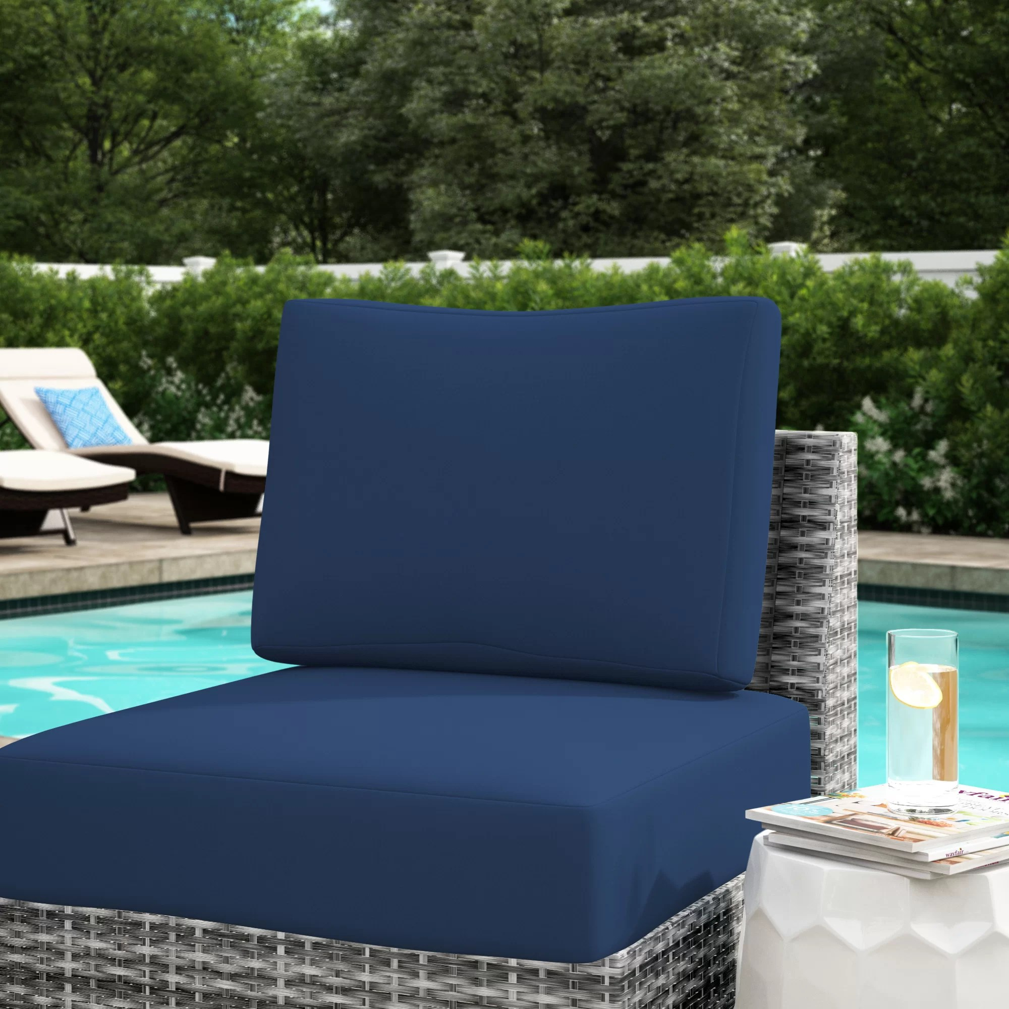 blue incl 6 seat cushion covers 8