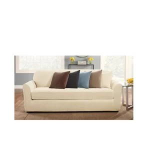 sofa covers toronto canada outdoor building plans slipcovers you ll love wayfair ca box cushion slipcover set