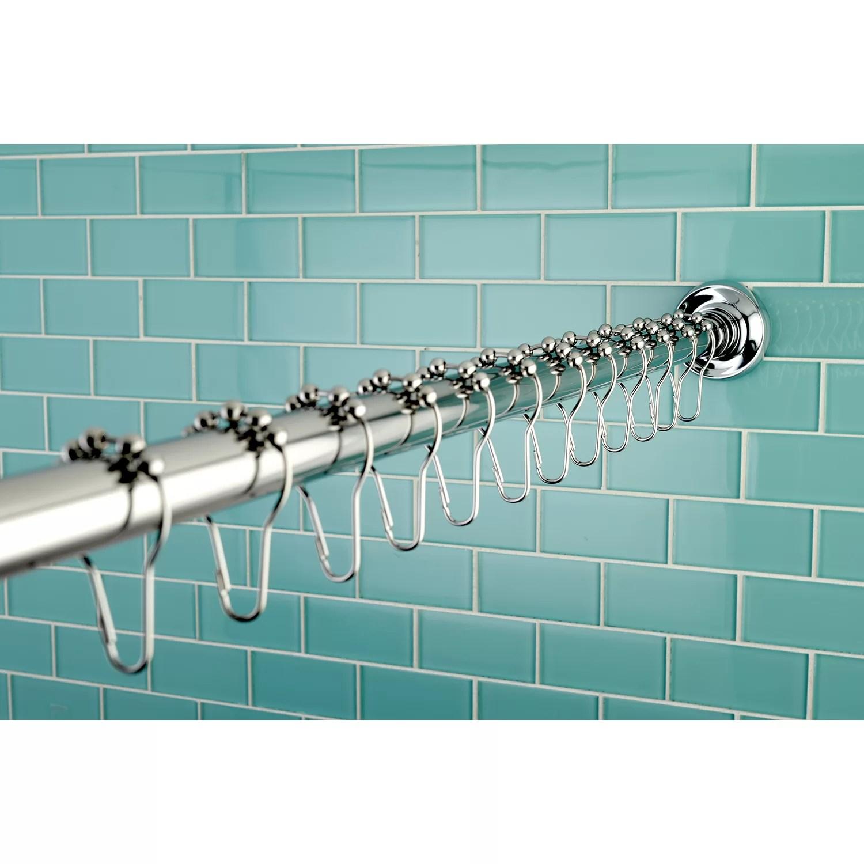 Edenscape 72 Adjustable Straight Shower Curtain Rod