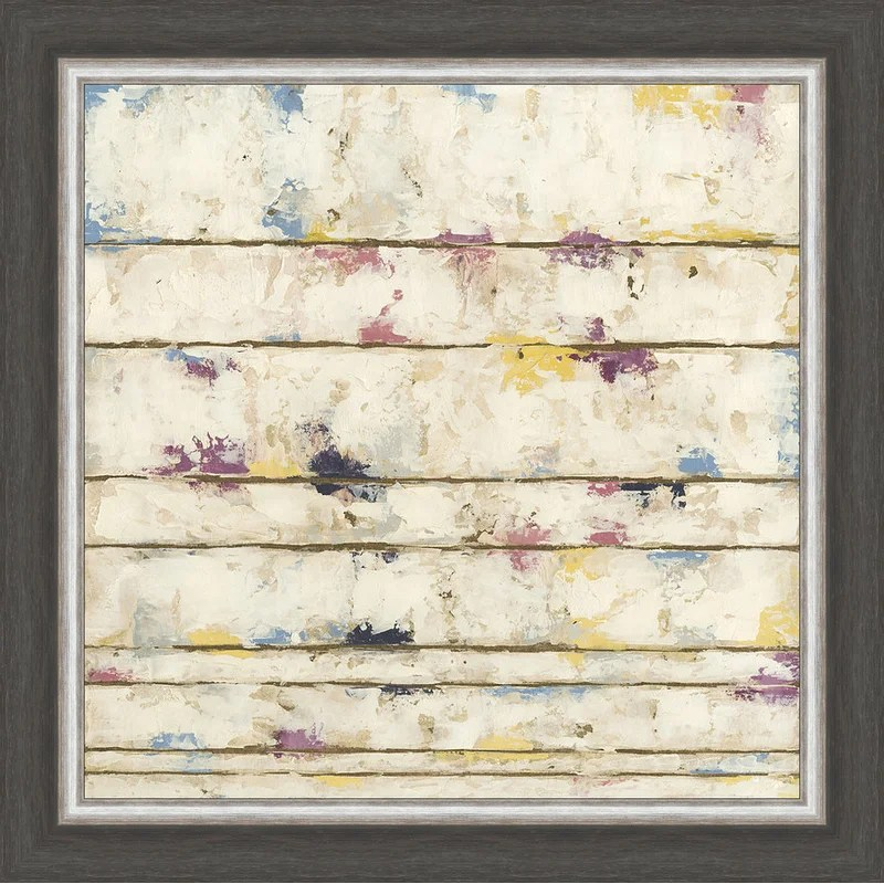 Trends Lined Abstract II Framed Painting Print