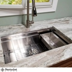 Buy Undermount Kitchen Sink Remodel Tucson Nantucket Sinks Pro Series 30 L X 18 W Zr Ps 3018 16