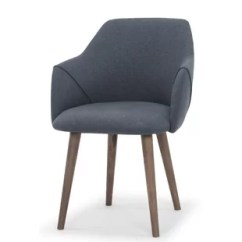 Revolving Chair For Kitchen Antique Rocking Modern Dining Chairs Allmodern Quickview