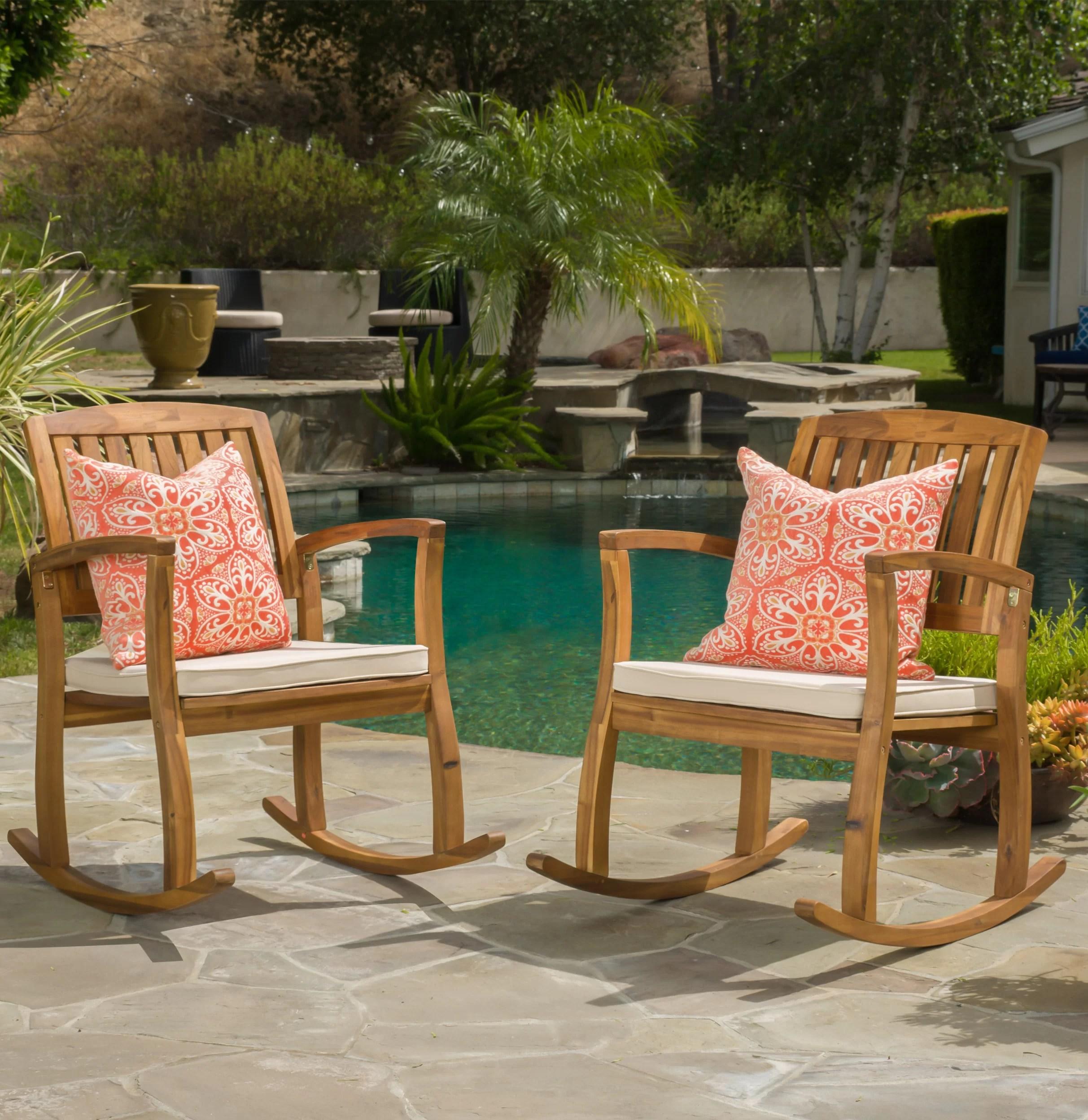 patio rocking chairs gliders wayfair