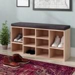 Latitude Run 10 Pair Shoe Storage Bench Reviews Wayfair
