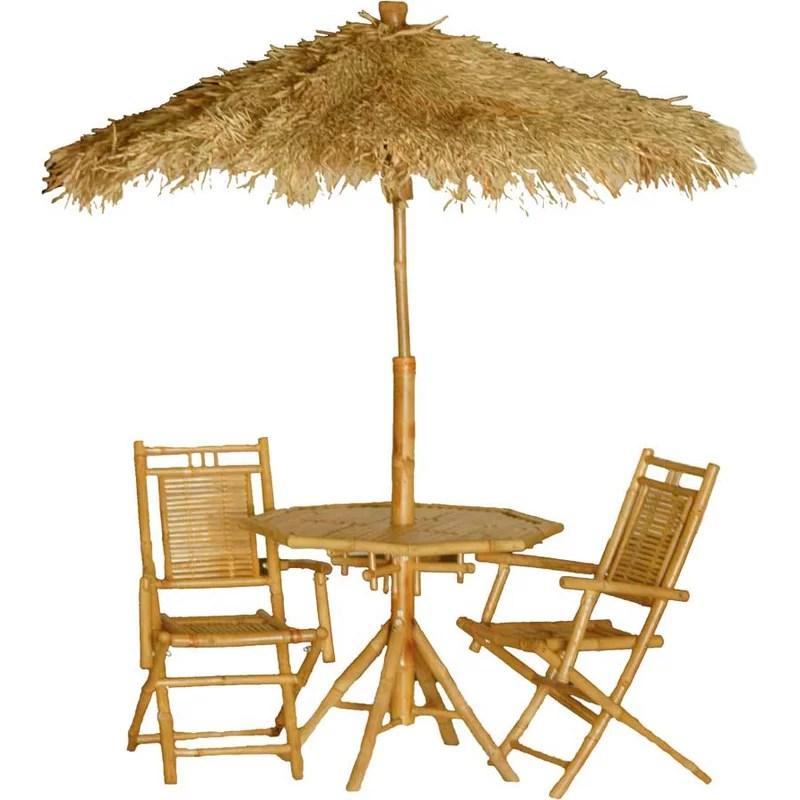 Karaman 4 Piece Dining Table Set