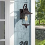 Canora Grey Natumbua Tannery Bronze Outdoor Wall Lantern Reviews